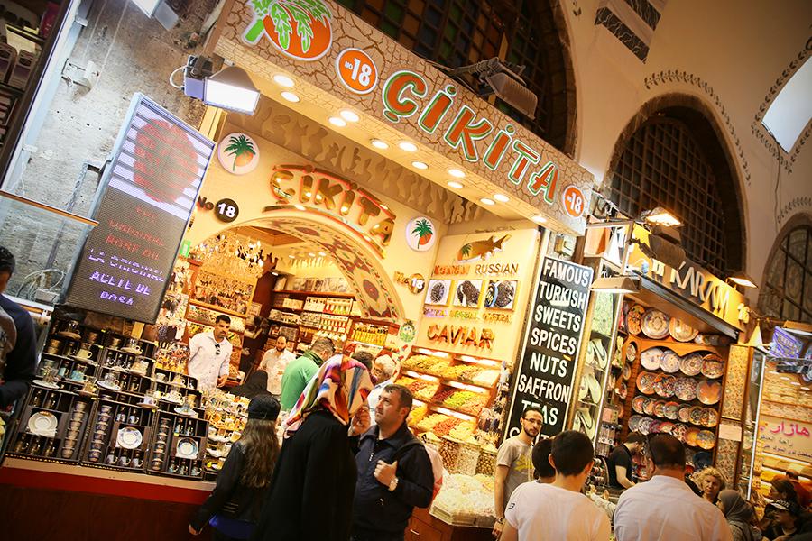 BazarEgipski2 Co kupić w Turcji? Bazar Egipski w Stambule