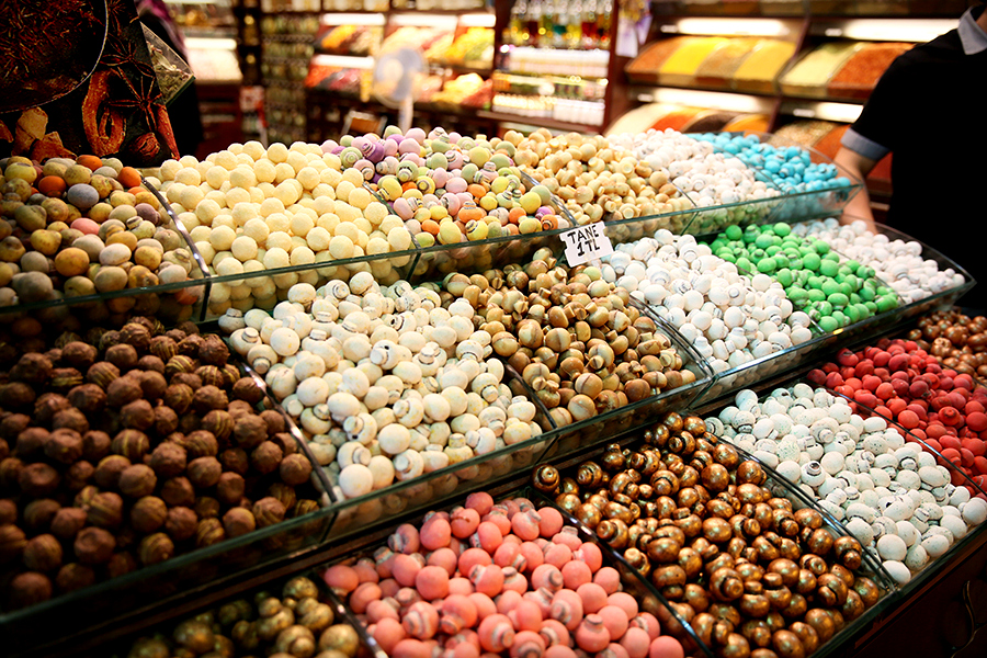 BazarEgipski9 Co kupić w Turcji? Bazar Egipski w Stambule