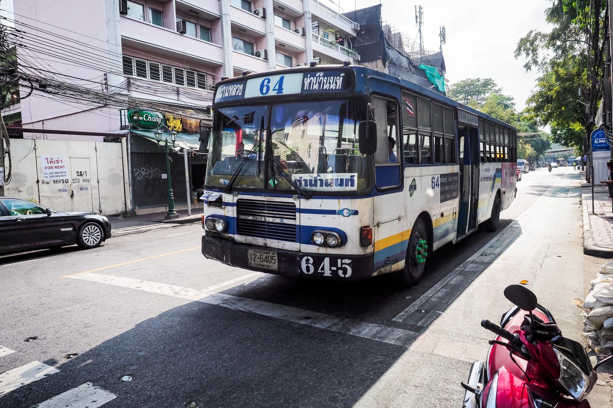 Bangkok 211 Transport w Bangkoku   jak podróżować po stolicy Tajlandii?