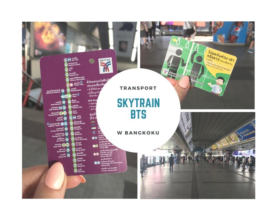 Skytrain%E2%80%A8Bts Transport w Bangkoku   jak podróżować po stolicy Tajlandii?