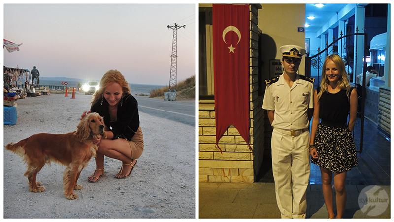 życie w turcji4 Życie w Turcji   Polka w Çanakkale