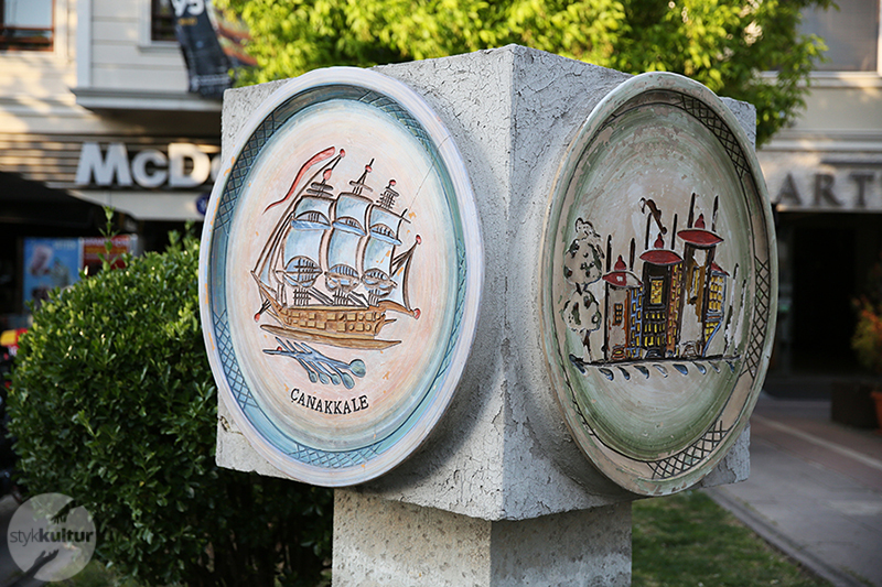 canakkale stykkultur Turecka ceramika   historia  z Çanakkale