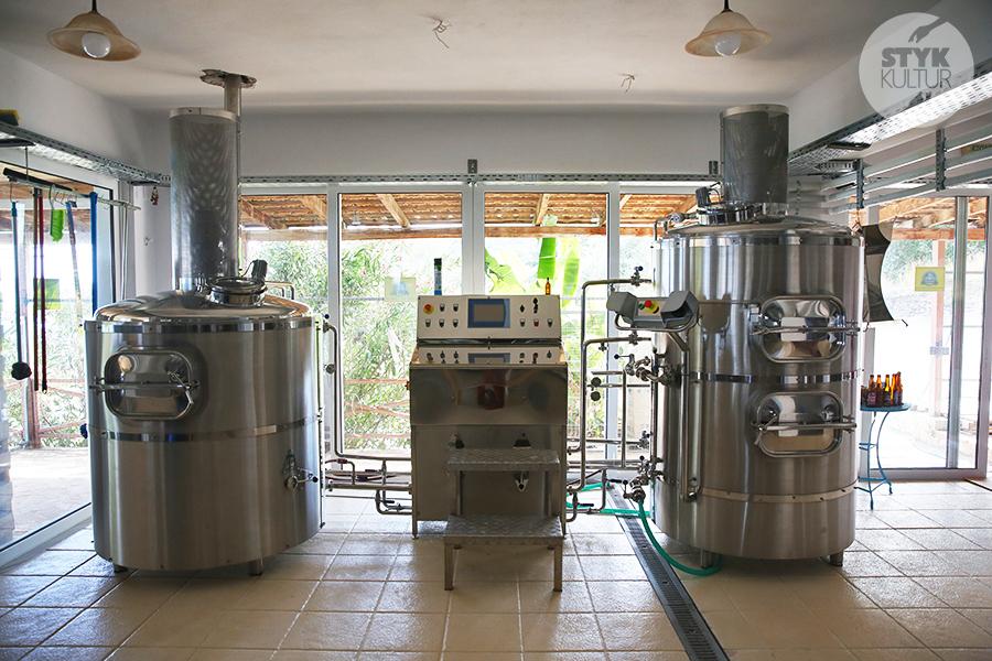Zakynthos piwo5 Poproszę greckie piwo! Z wizytą w browarze Levante na Zakynthos