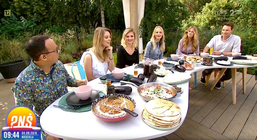 PNS1 1024x558 Styk Kultur o tureckiej kuchni w Pytaniu na śniadanie w TVP2