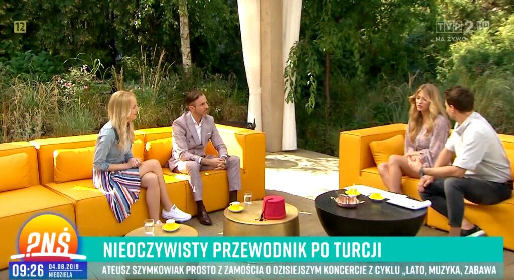 PytanieNaSniadnaie2 1024x558 Styk Kultur o Turcji w Pytaniu na śniadanie w TVP2
