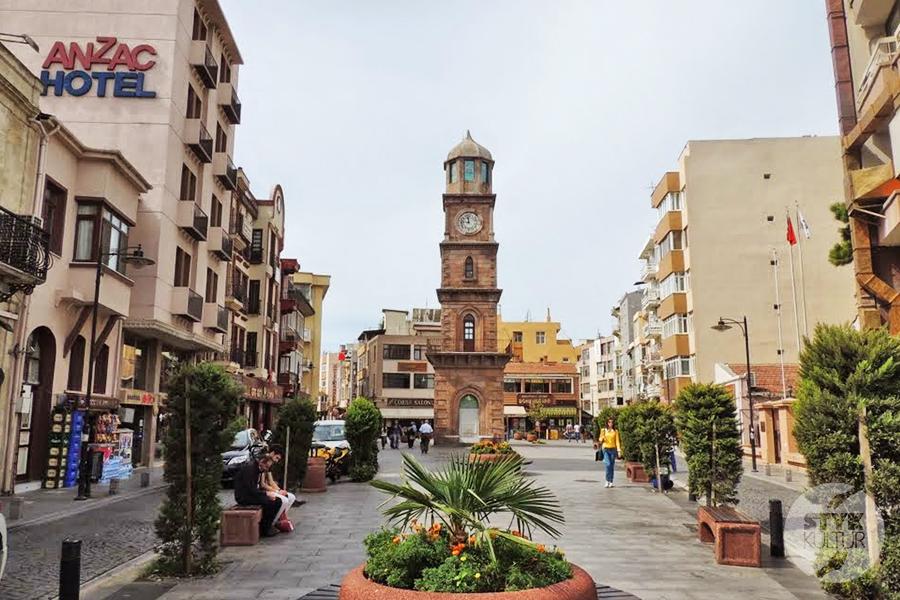 Canakkale stare 1 Çanakkale, Turcja   miasto nad cieśniną Dardanele [atrakcje, zabytki, koń trojański]