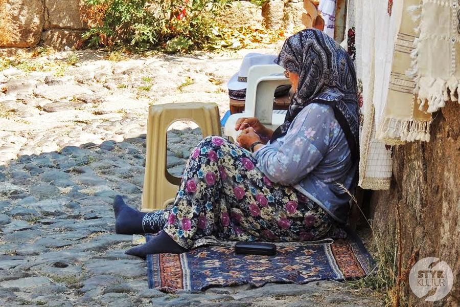 assos16 Starożytne Assos w Turcji, w pobliżu wsi Behramkale