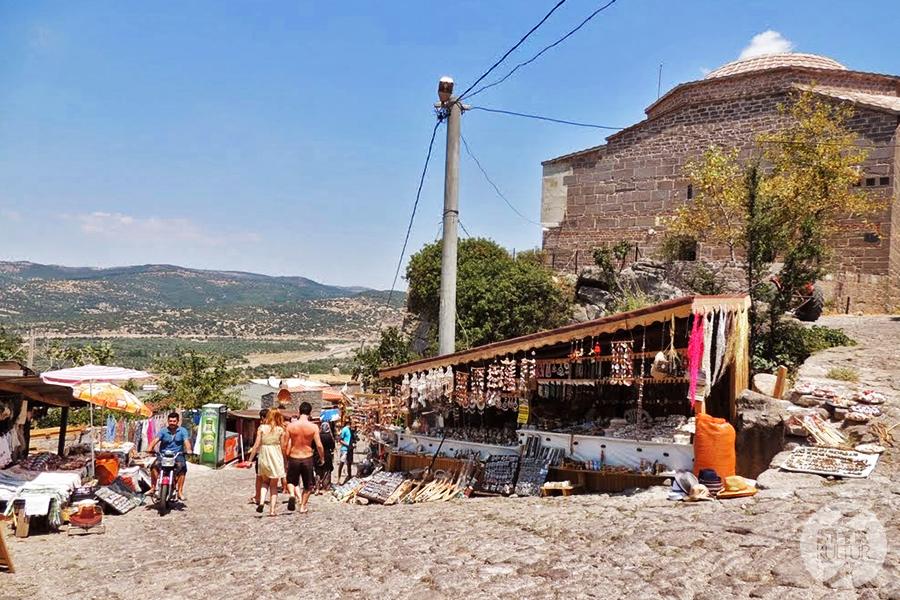 assos2 Starożytne Assos w Turcji, w pobliżu wsi Behramkale