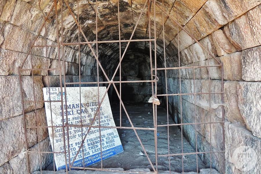 assos23 Starożytne Assos w Turcji, w pobliżu wsi Behramkale