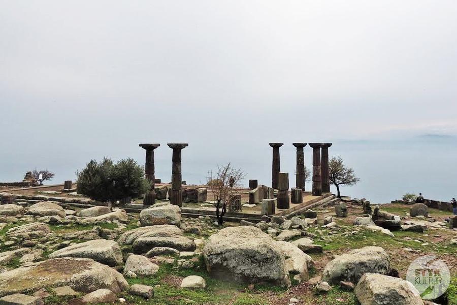 assos5 1 Starożytne Assos w Turcji, w pobliżu wsi Behramkale