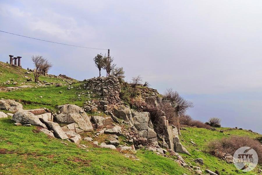 assps2 Starożytne Assos w Turcji, w pobliżu wsi Behramkale