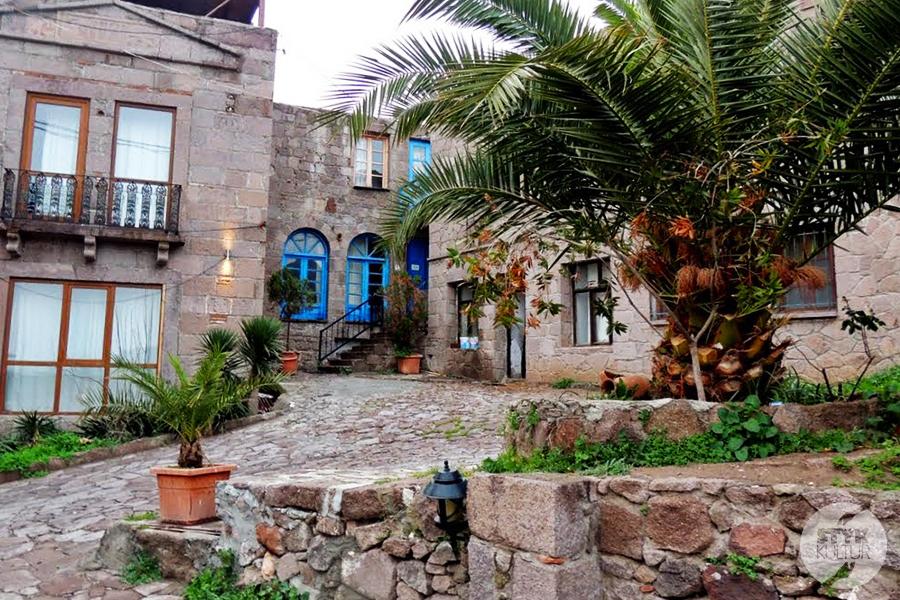assps27 Starożytne Assos w Turcji, w pobliżu wsi Behramkale