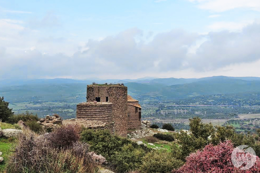 assps3 Starożytne Assos w Turcji, w pobliżu wsi Behramkale