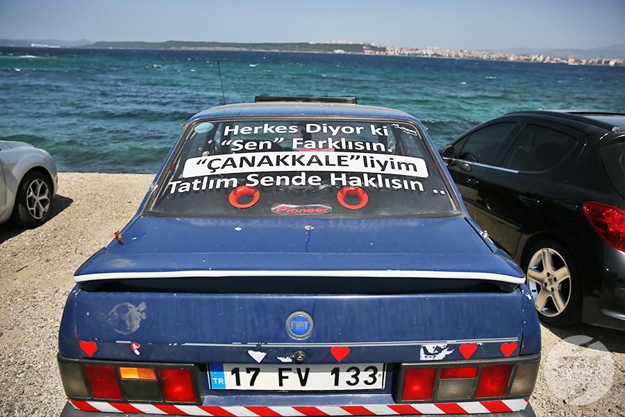 canakkale35 Çanakkale, Turcja   miasto nad cieśniną Dardanele [atrakcje, zabytki, koń trojański]