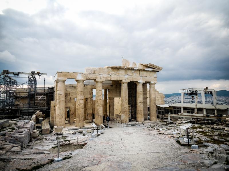 Ateny 11 of 42 Akropol w Atenach   jedna z największych atrakcji Grecji