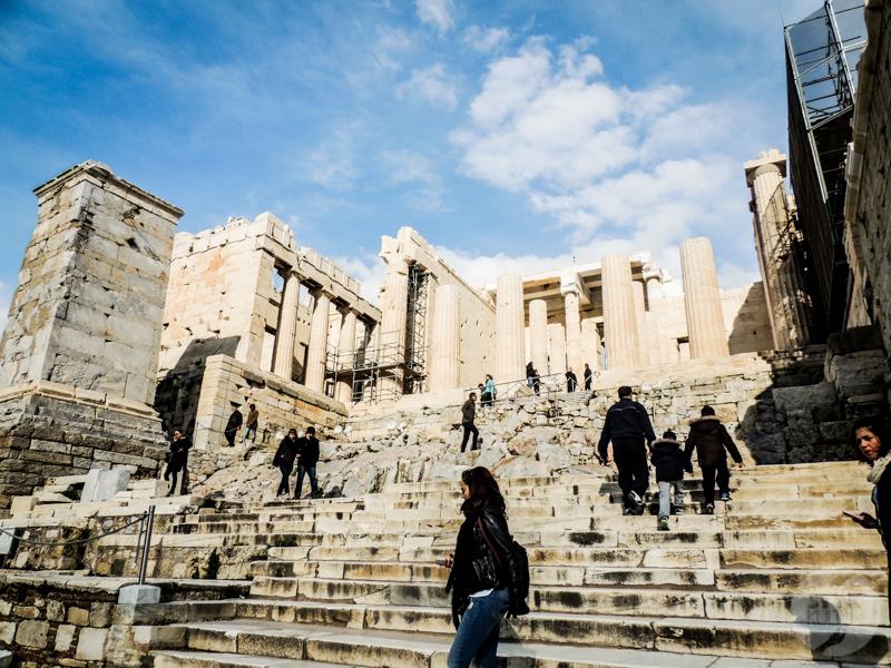 Ateny 67 of 1 Akropol w Atenach   jedna z największych atrakcji Grecji