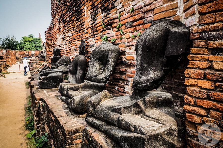 Ayutthaya 20 of 31 Ayutthaya   wycieczka do dawnej stolicy Tajlandii