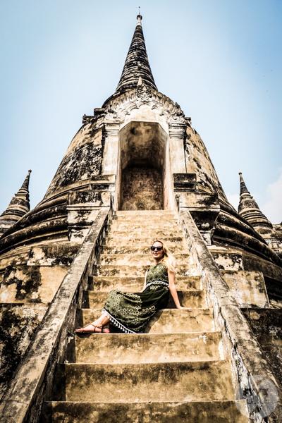 Ayutthaya 29 of 31 Ayutthaya   wycieczka do dawnej stolicy Tajlandii