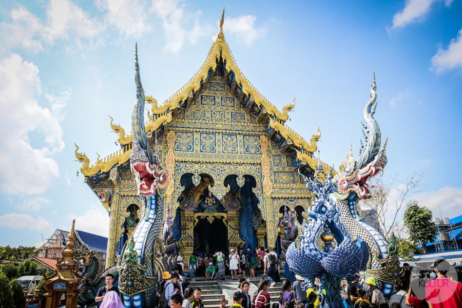 BlueTemple 1 of 18 Blue Temple   słynna niebieska świątynia na północy Tajlandii