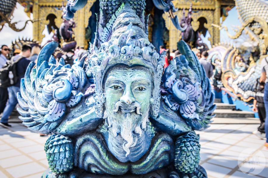 BlueTemple 2 of 18 Blue Temple   słynna niebieska świątynia na północy Tajlandii