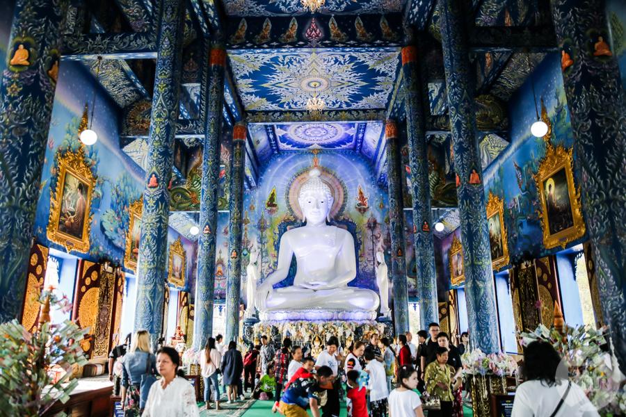 BlueTemple 5 of 18 Blue Temple   słynna niebieska świątynia na północy Tajlandii