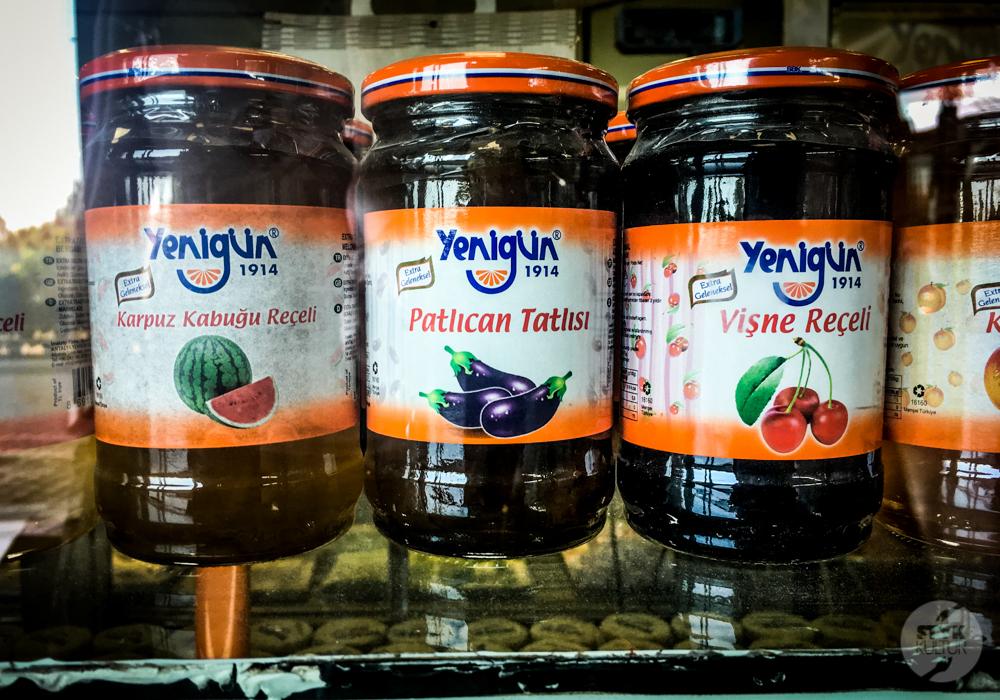 IMG 2702 Dżem z bakłażana   warzywna konfitura, której warto spróbować w Turcji