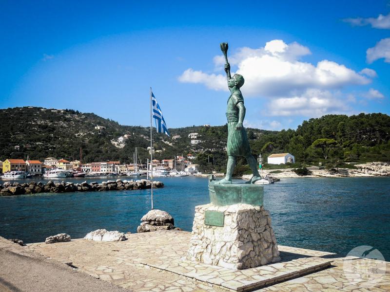 Paxos 42 of 48 Korfu: Paxos i Antipaxos   rajskie wyspy jońskie