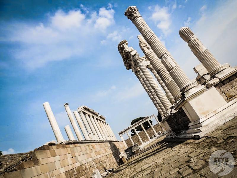 Pergamon 13 of 22 Antyczne atrakcje Turcji   starożytny Pergamon