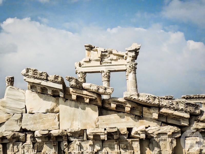 Pergamon 17 of 22 Antyczne atrakcje Turcji   starożytny Pergamon