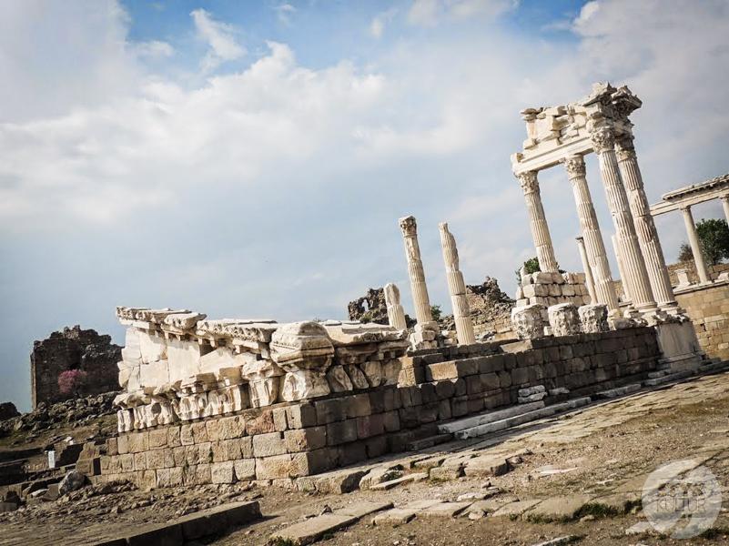 Pergamon 18 of 22 Antyczne atrakcje Turcji   starożytny Pergamon