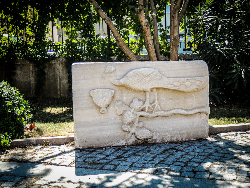 Skiathos 40 of 33 Turcja : Muzeum Archeologiczne w Çanakkale