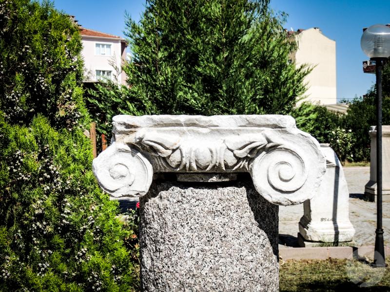 Skiathos 54 of 33 Turcja : Muzeum Archeologiczne w Çanakkale