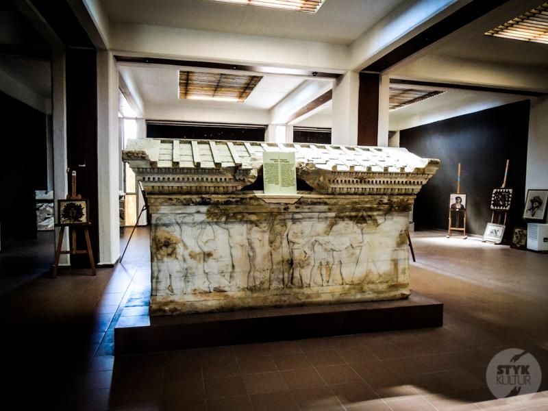 Skiathos 61 of 33 Turcja : Muzeum Archeologiczne w Çanakkale