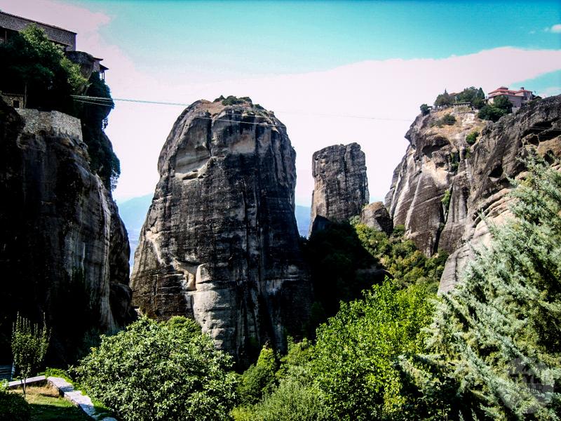 Skiathos 7 of 10 Grecja: Meteory, klasztory zawieszone w powietrzu i podniebni mnisi