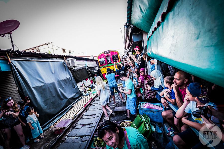 TargNaTorach 10 of 14 Atrakcje Bangkoku: targ na torach (Mae Klong)