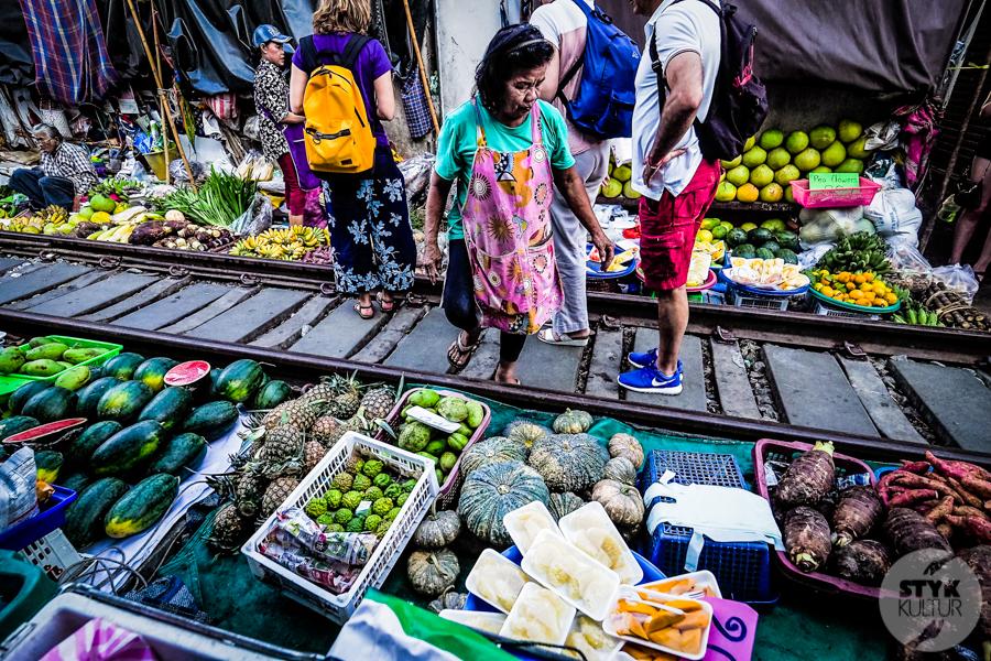 TargNaTorach 4 of 14 Atrakcje Bangkoku: targ na torach (Mae Klong)
