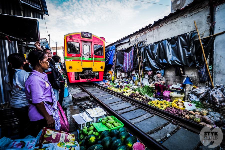 TargNaTorach 5 of 14 Atrakcje Bangkoku: targ na torach (Mae Klong)
