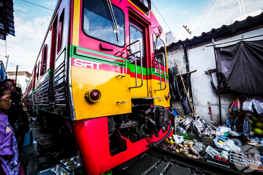 TargNaTorach 7 of 14 Atrakcje Bangkoku: targ na torach (Mae Klong)