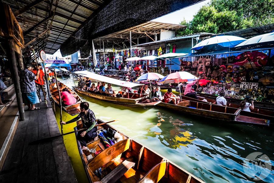 TargNaWodzie 1 of 25 Atrakcje Bangkoku: Pływający Targ (Damnoen Saduak)