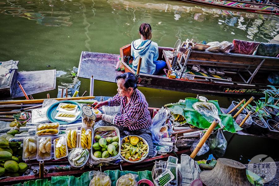 TargNaWodzie 10 of 25 Atrakcje Bangkoku: Pływający Targ (Damnoen Saduak)