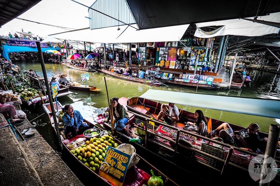 TargNaWodzie 11 of 25 Atrakcje Bangkoku: Pływający Targ (Damnoen Saduak)