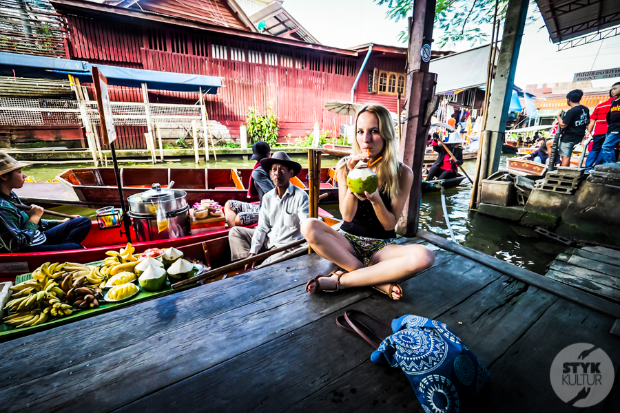 TargNaWodzie 15 of 25 Atrakcje Bangkoku: Pływający Targ (Damnoen Saduak)