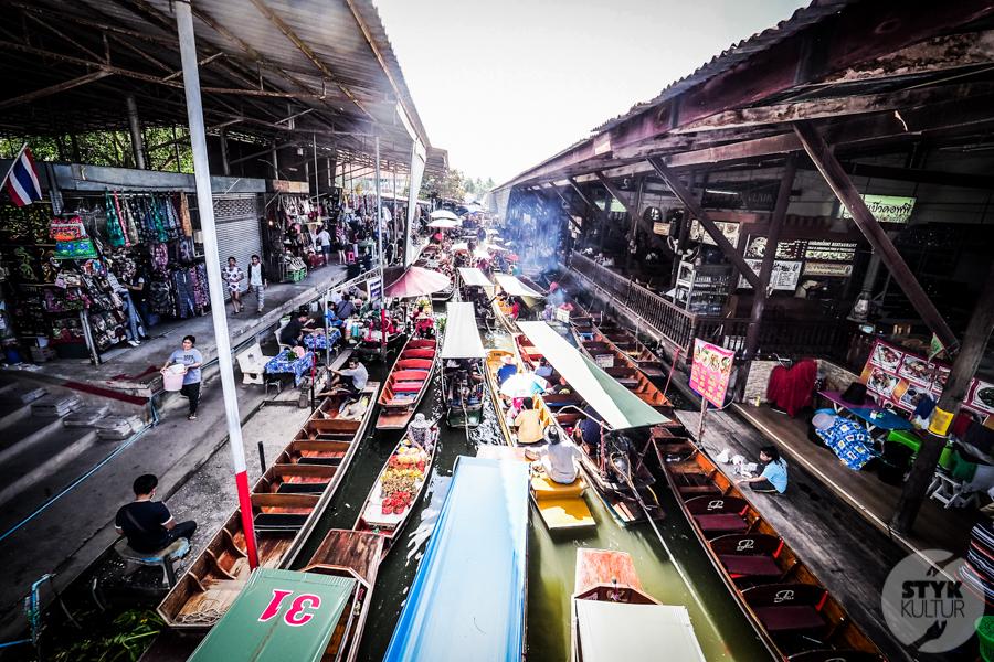 TargNaWodzie 18 of 25 Atrakcje Bangkoku: Pływający Targ (Damnoen Saduak)