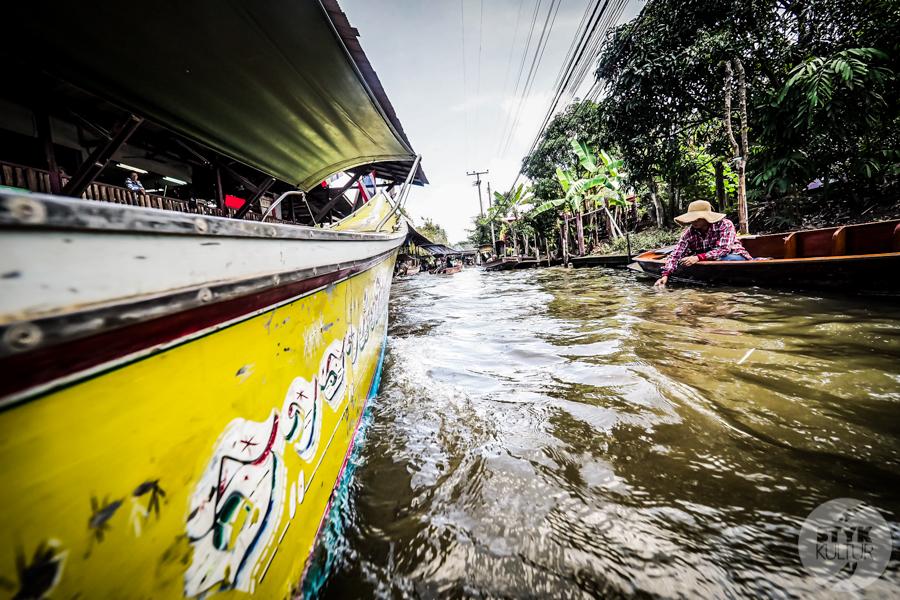 TargNaWodzie 19 of 25 Atrakcje Bangkoku: Pływający Targ (Damnoen Saduak)