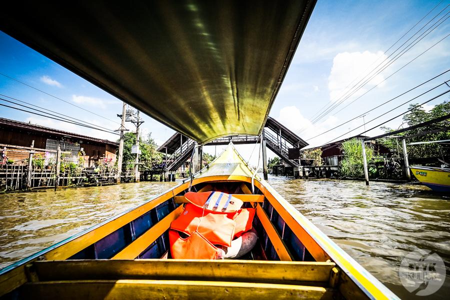 TargNaWodzie 23 of 25 Atrakcje Bangkoku: Pływający Targ (Damnoen Saduak)