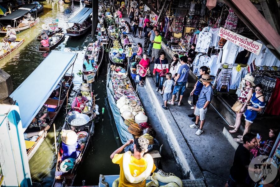 TargNaWodzie 6 of 25 Atrakcje Bangkoku: Pływający Targ (Damnoen Saduak)