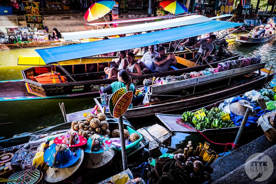 TargNaWodzie 7 of 25 Atrakcje Bangkoku: Pływający Targ (Damnoen Saduak)