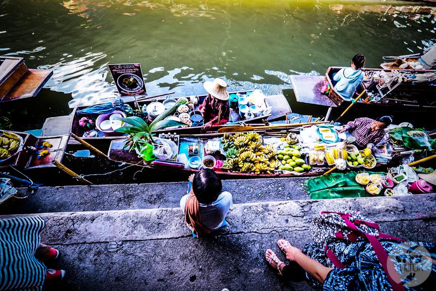 TargNaWodzie 9 of 25 Atrakcje Bangkoku: Pływający Targ (Damnoen Saduak)