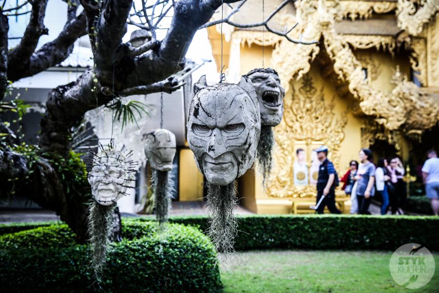 WhiteTemple 29 of 30 White Temple   imponująca Biała Świątynia na północny Tajlandii