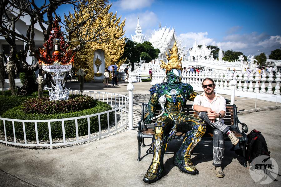 WhiteTemple 30 of 30 White Temple   imponująca Biała Świątynia na północny Tajlandii